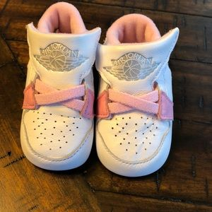 Other - Air Jordan baby girl shoes
